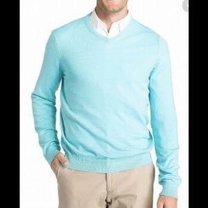 NWT Izod Blue Radiance V Neck Sweater Sz XXL